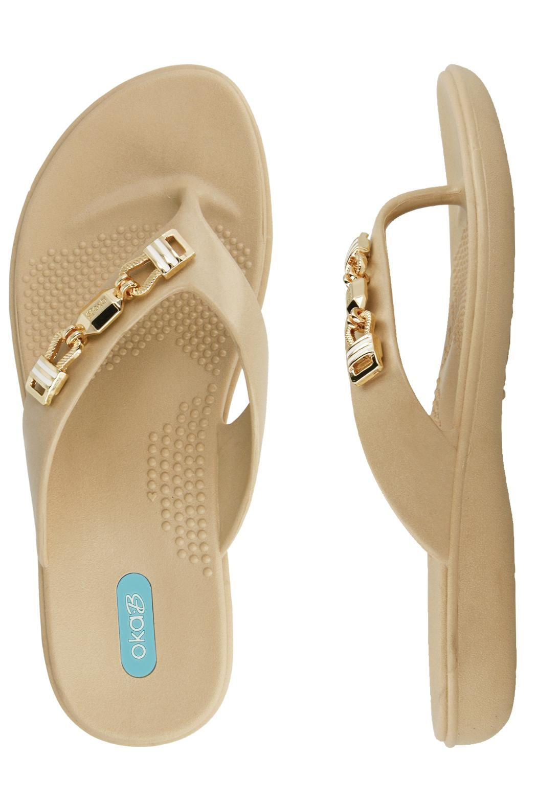 Oka B Fashion Breeze Flipflop - Front Full Image