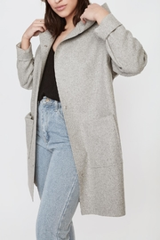 Lovan M Olaf Grey Coat - Product Mini Image