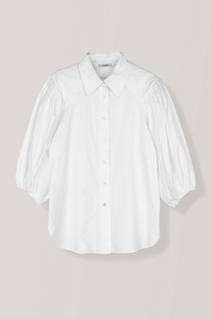 Ganni Olayan Poplin Shirt - Alternate List Image