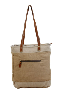 Myra Bag  OLD SCHOOL ORGANIC FABRIC MARKET BAG - Alternate List Image