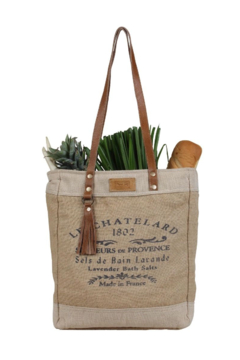 Myra Bag  OLD SCHOOL ORGANIC FABRIC MARKET BAG - Product List Image