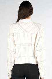 Lovestitch OLD SCHOOL PLAID - Back cropped