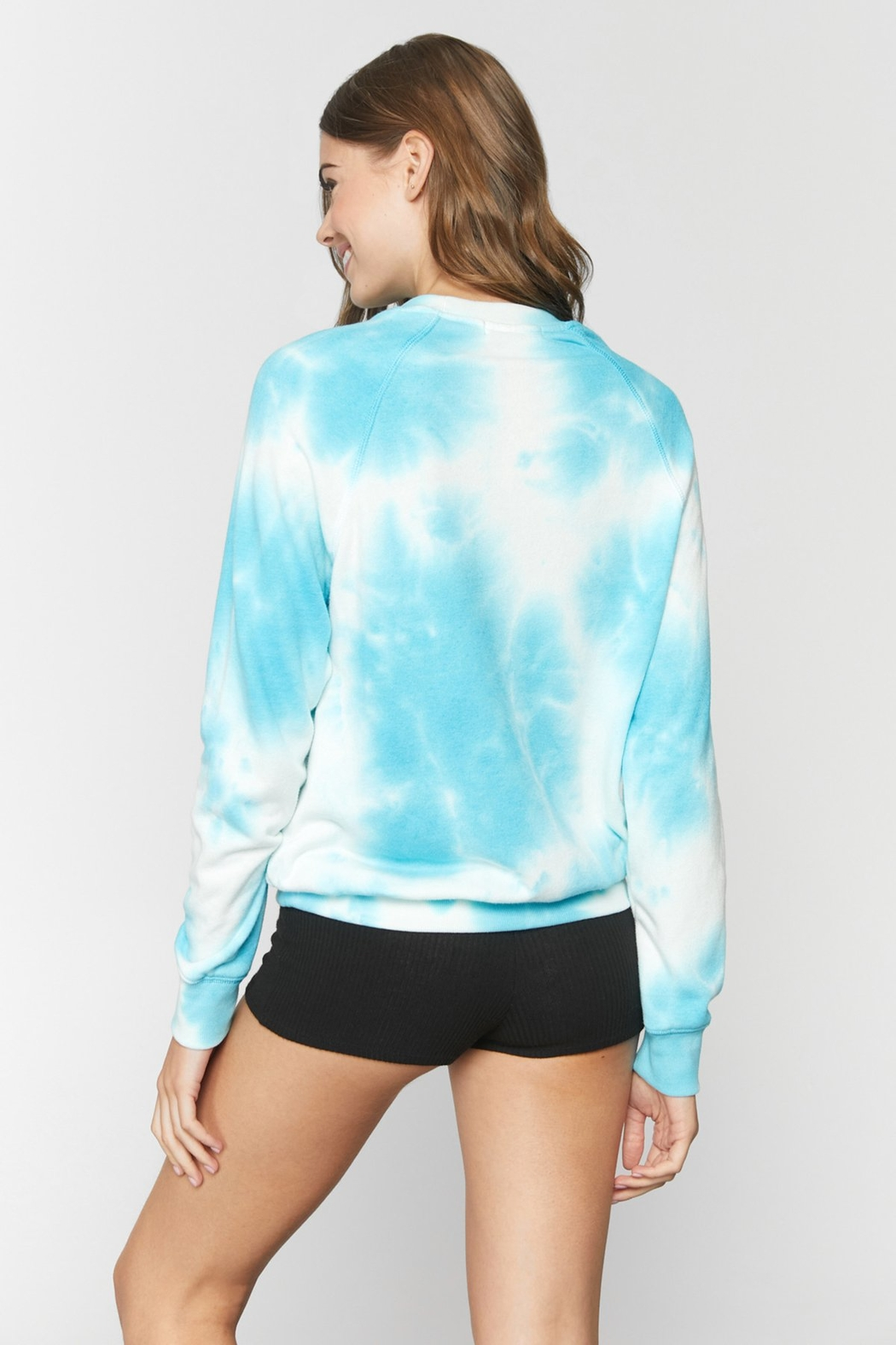 Spiritual Gangster  Old School Tie Dye Pullover - Side Cropped Image