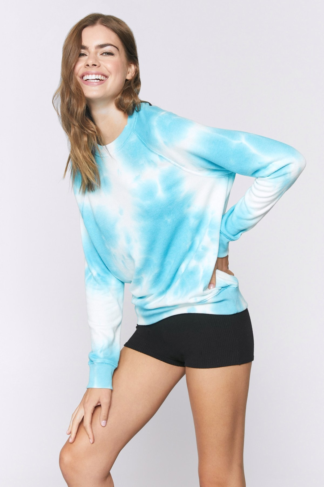 Spiritual Gangster  Old School Tie Dye Pullover - Front Full Image