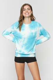 Spiritual Gangster  Old School Tie Dye Pullover - Front cropped