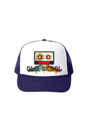 Bubu Old Skool Navy Trucker Hat - Product Mini Image