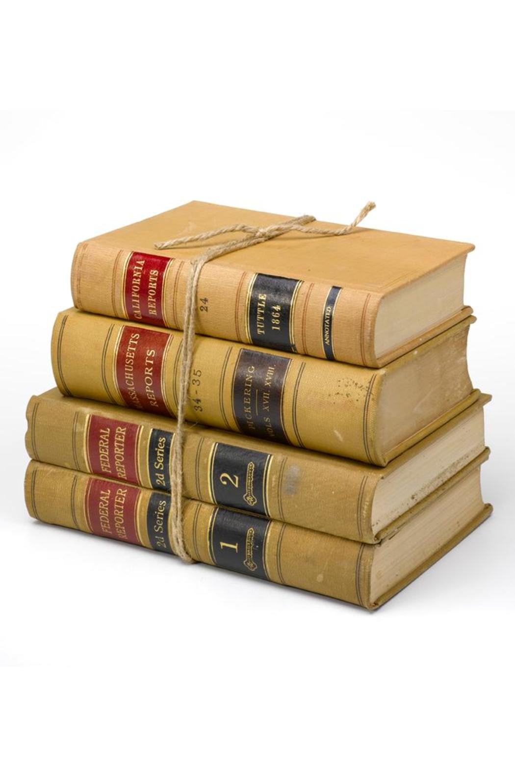 Old Glory Decorative Law Books Front Cropped Image