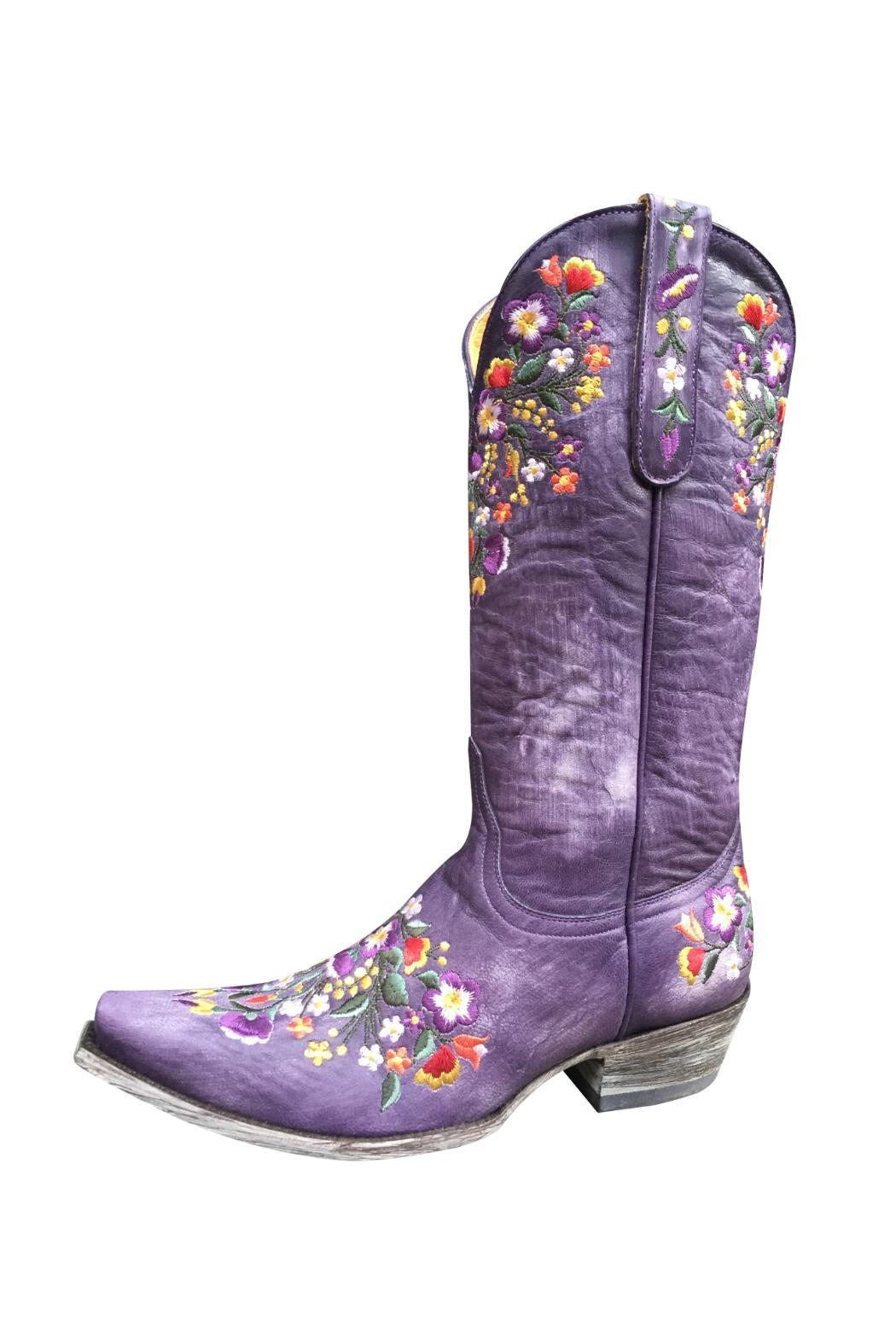 Old Gringo Boots Purple Flower Cowboy Boots From Soho By