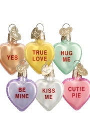 Old World Christmas Conversation Hearts - Product Mini Image