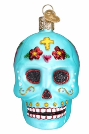 Old World Christmas Day Of Dead Ornament - Product Mini Image