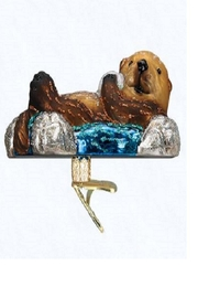 Old World Christmas Floating Sea Otter - Product Mini Image