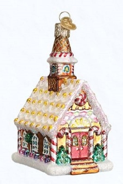Old World Christmas Gingerbread Church Ornament - Product List Image