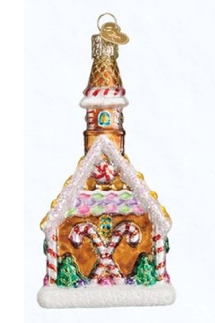 Old World Christmas Gingerbread Church Ornament - Alternate List Image