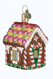 Old World Christmas Gingerbread House Ornament - Product Mini Image