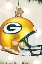 Old World Christmas Green Bay Packers Helmet - Front cropped