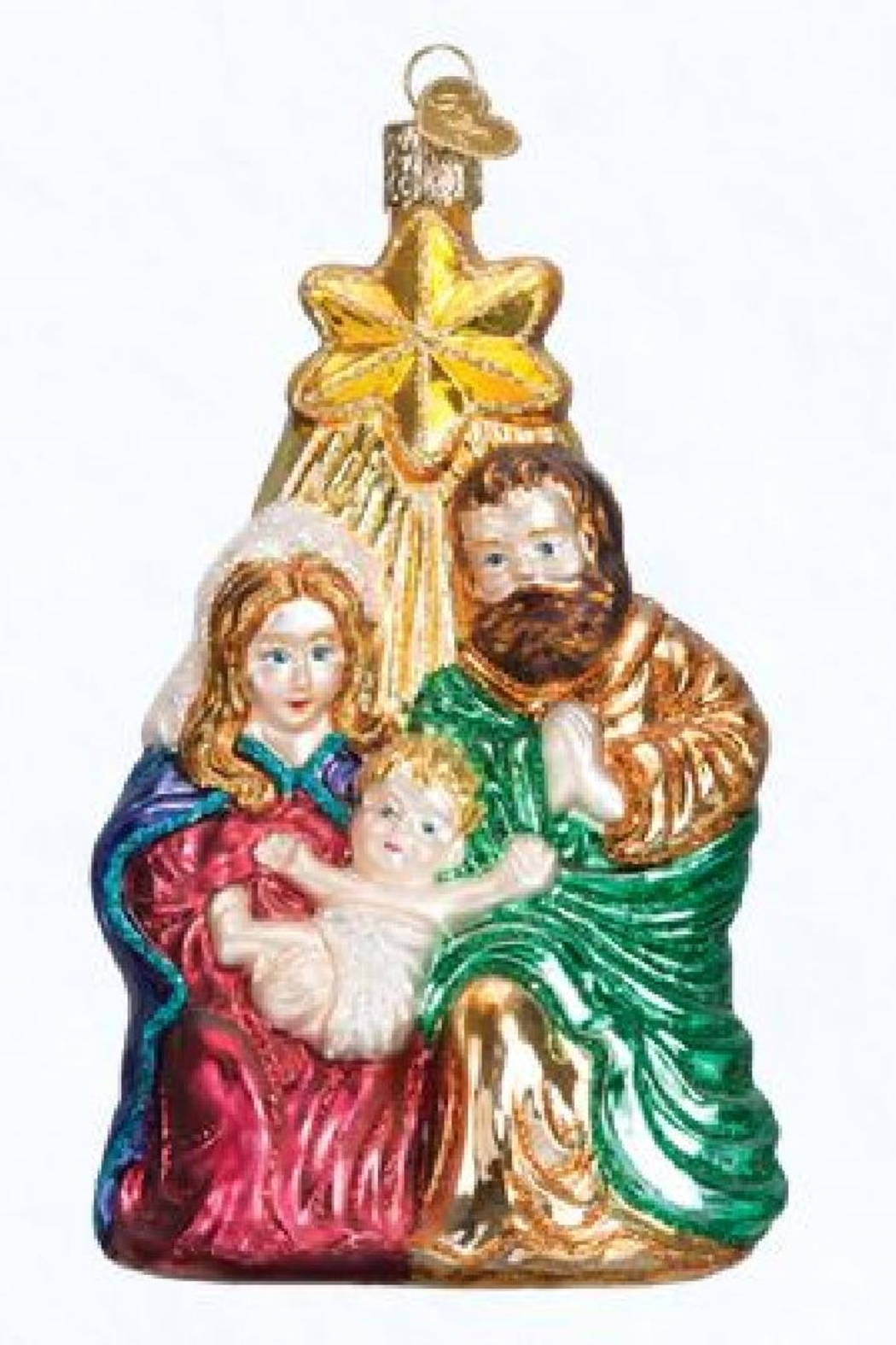 Old World Christmas Holy Family Ornament - Main Image