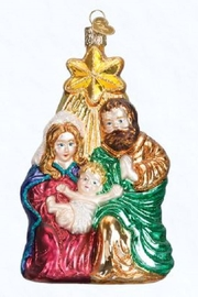 Old World Christmas Holy Family Ornament - Product Mini Image