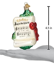 Old World Christmas Joy To The World Ornament - Side cropped
