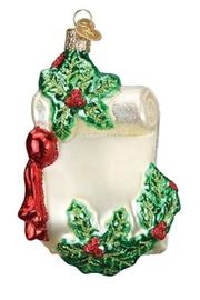 Old World Christmas Joy To The World Ornament - Front full body