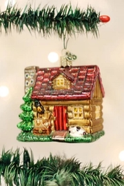 Old World Christmas Lake Cabin Ornament - Product Mini Image