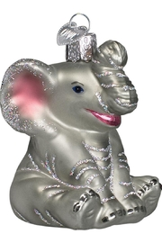 Old World Christmas Little Elephant Ornament - Product Mini Image