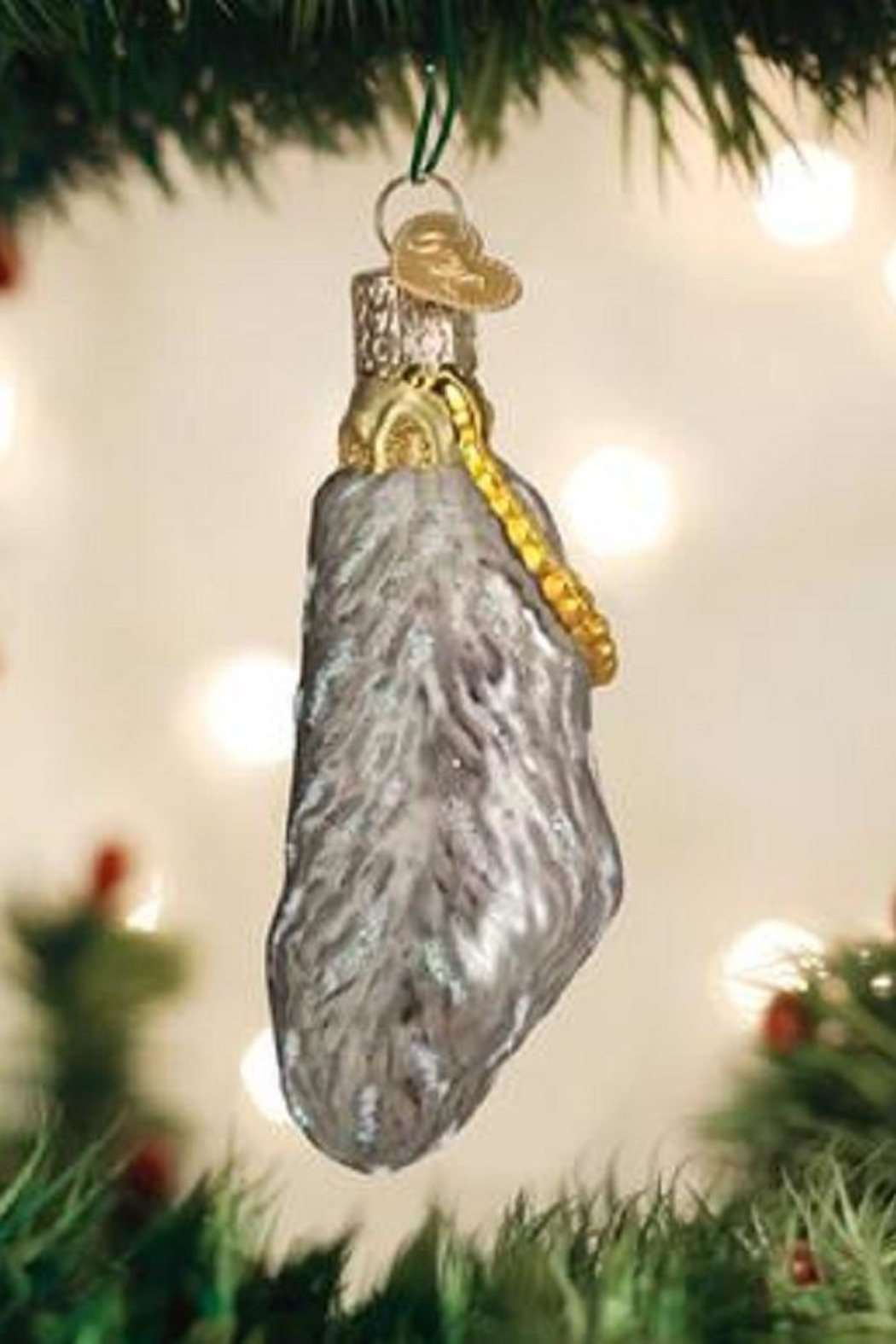 Old World Christmas Lucky Rabbit Foot Ornament - Main Image