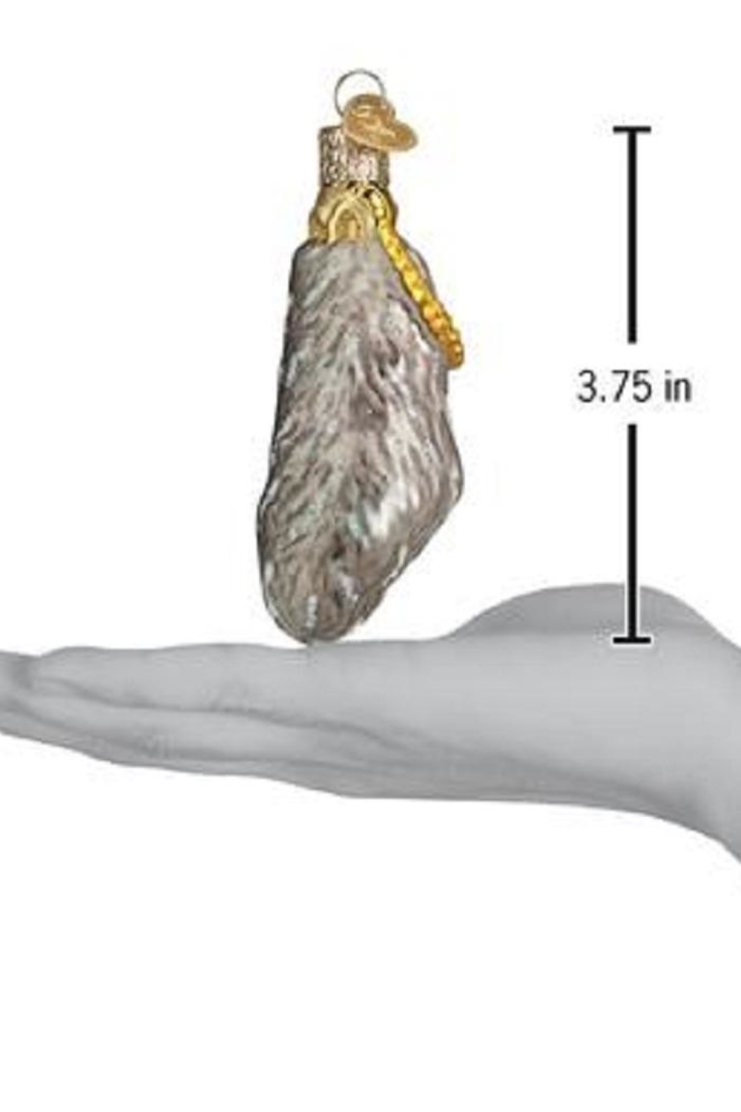 Old World Christmas Lucky Rabbit Foot Ornament - Front Full Image