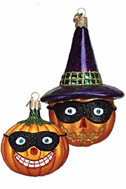 Old World Christmas Masked Jack O Lanterns - Product Mini Image
