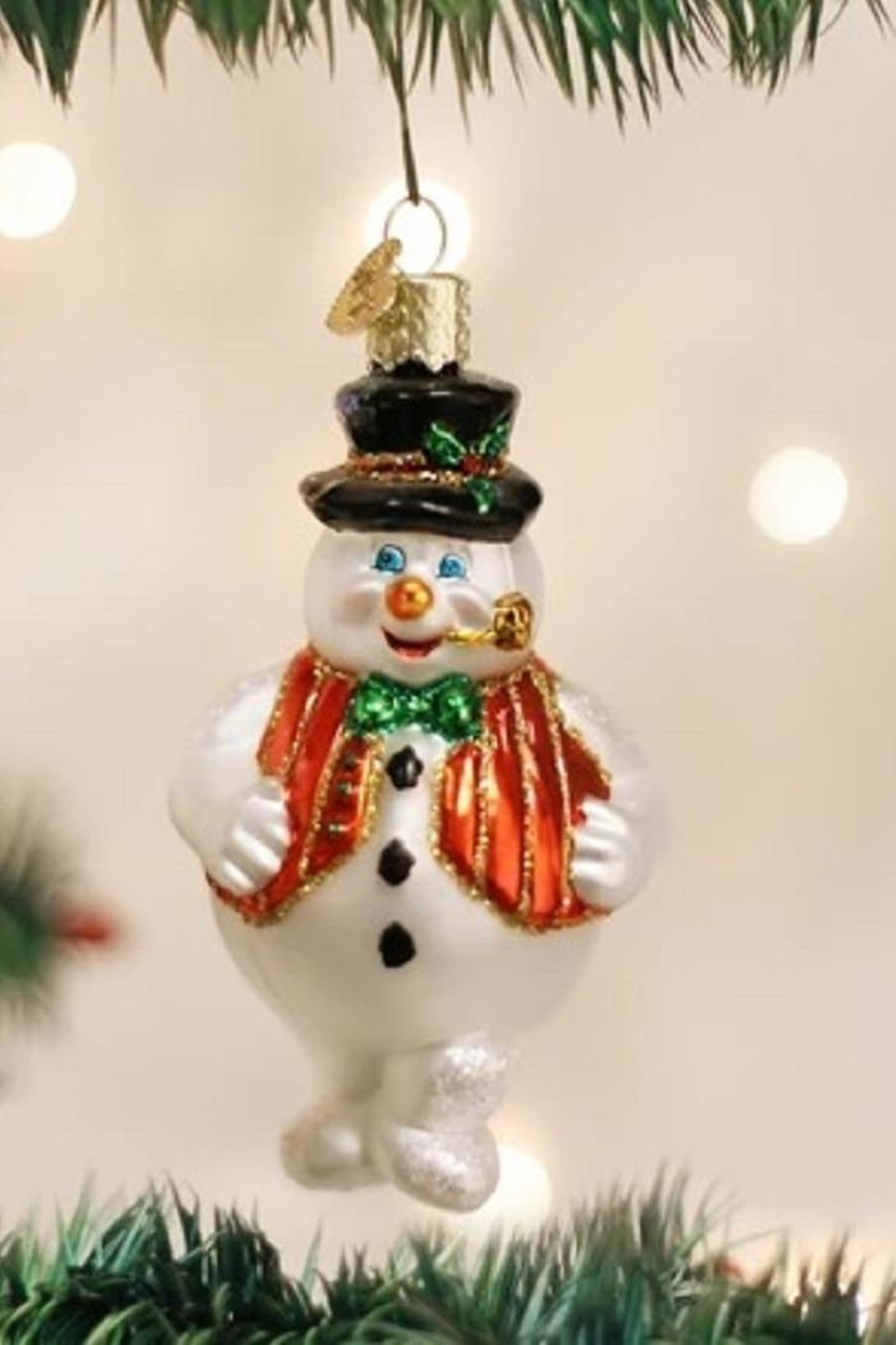 Old World Christmas Mr Frosty Ornament - Main Image