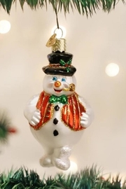 Old World Christmas Mr Frosty Ornament - Product Mini Image