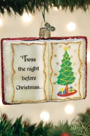 Old World Christmas Night Before Christmas Ornament - Product Mini Image
