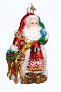 Old World Christmas Nordic Santa Ornament - Product List Image