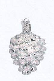 Old World Christmas Pine Cone Ornaments - Product Mini Image