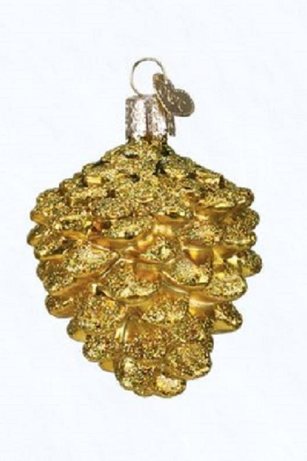 Old World Christmas Pine Cone Ornaments - Front Cropped Image
