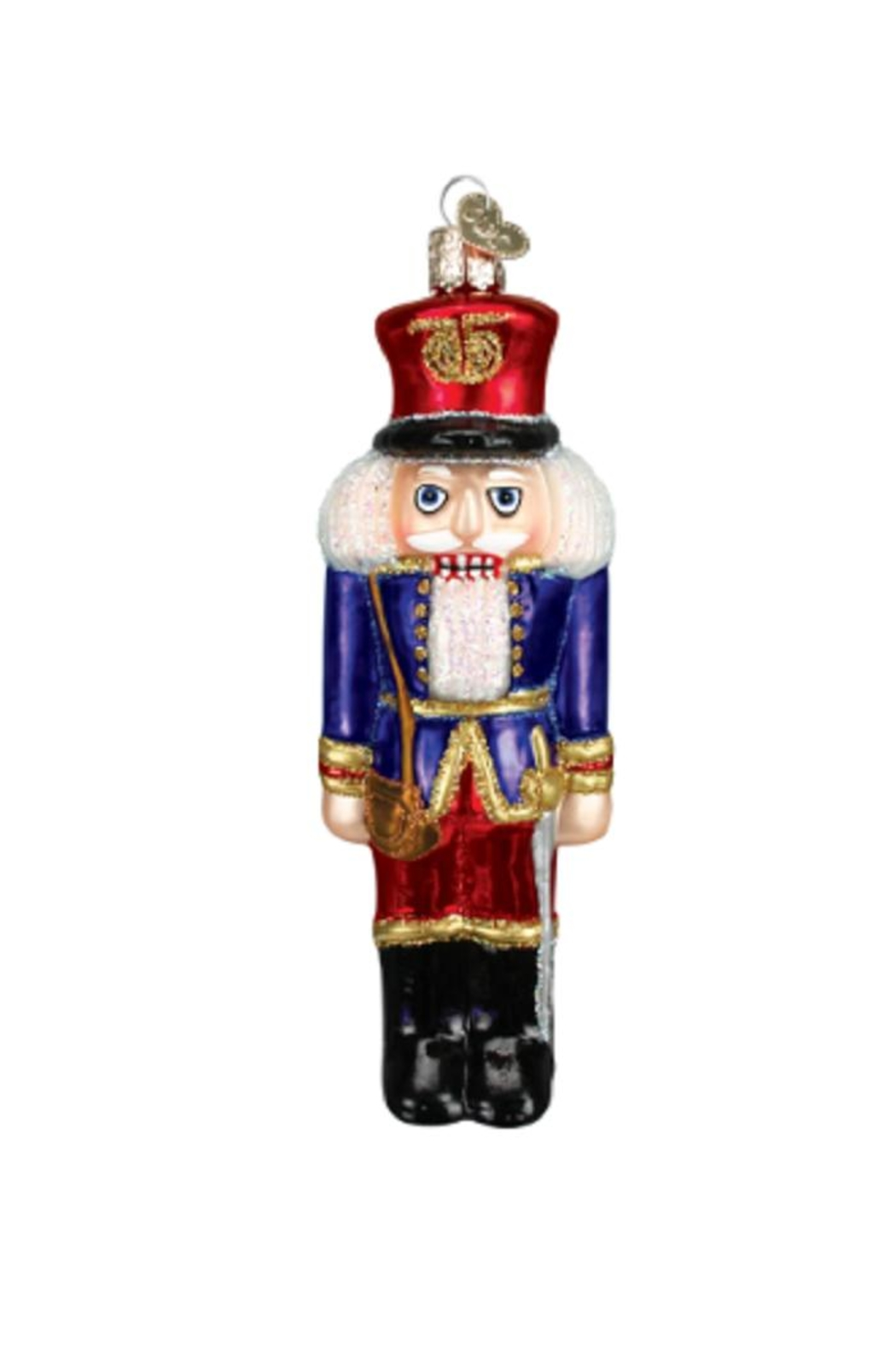 Old World Christmas Soldier Nutcracker Ornament - Main Image