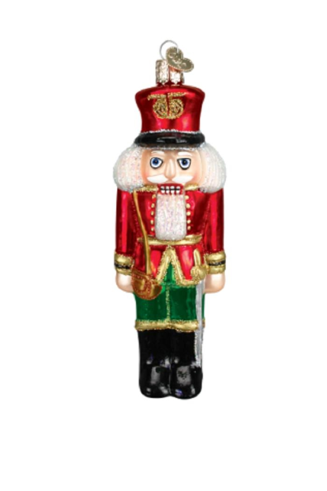 Old World Christmas Soldier Nutcracker Ornament - Front Cropped Image