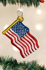 Old World Christmas Star Spangled Banner Flag - Product Mini Image