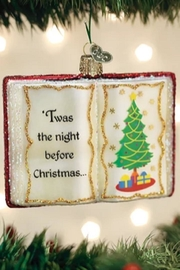 Old World Christmas Twas The Night Before Christmas.... - Front cropped