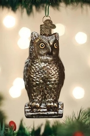 Old World Christmas Vintage Wise Old Owl - Product Mini Image