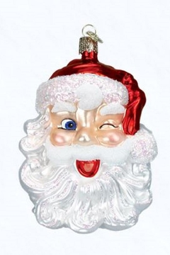 Old World Christmas Winking Santa Ornament - Product List Image