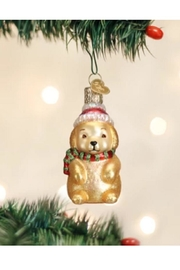 Old World Christmas Winter Puppy Ornament - Product Mini Image