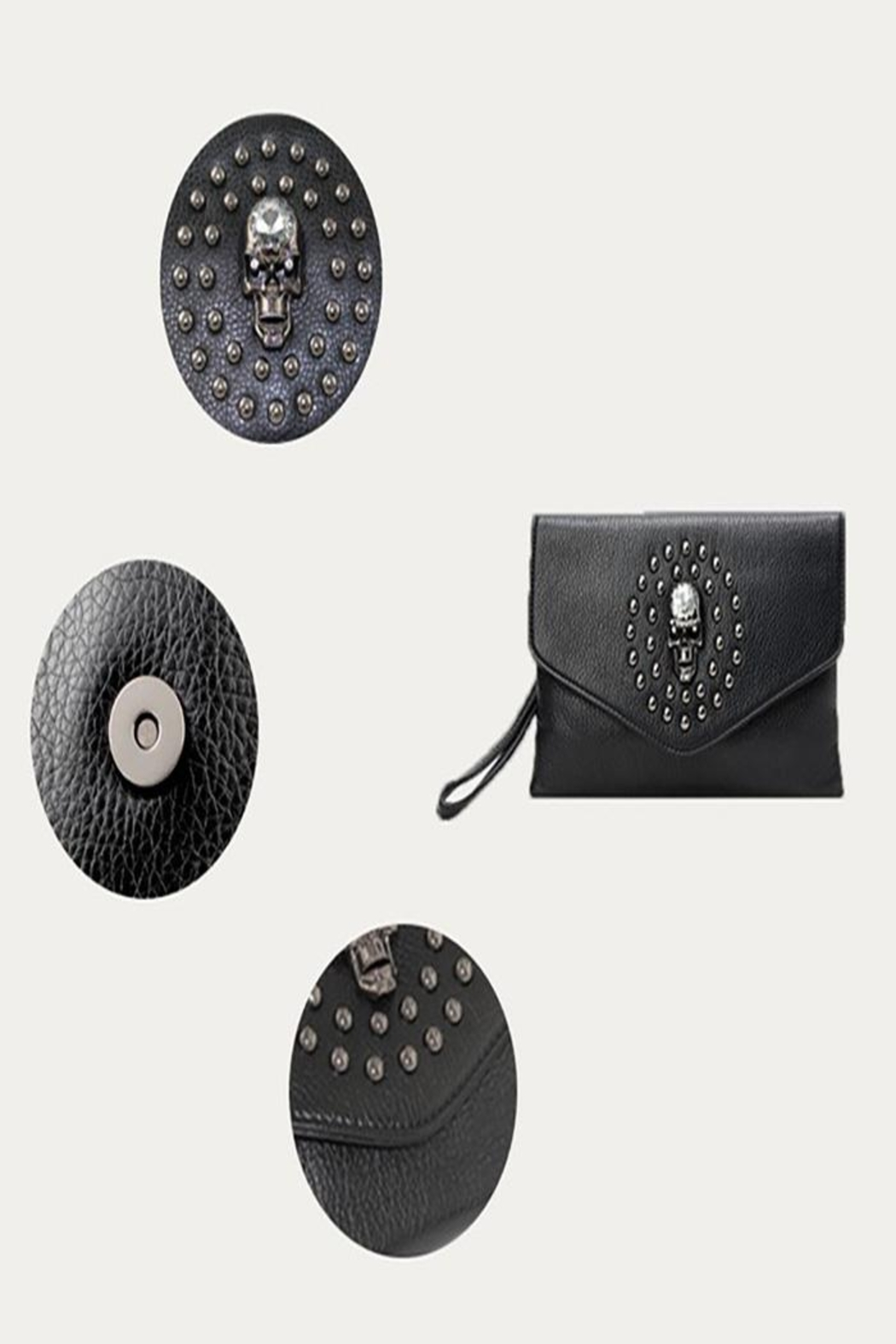 Ole' Skull And Studs Crossbody Bag - Side Cropped Image