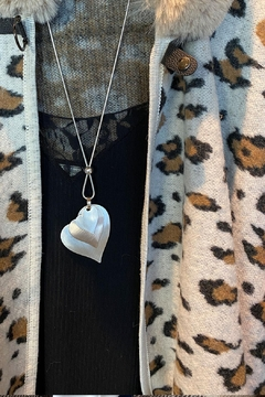 Shoptiques Product: Triple Heart Necklace