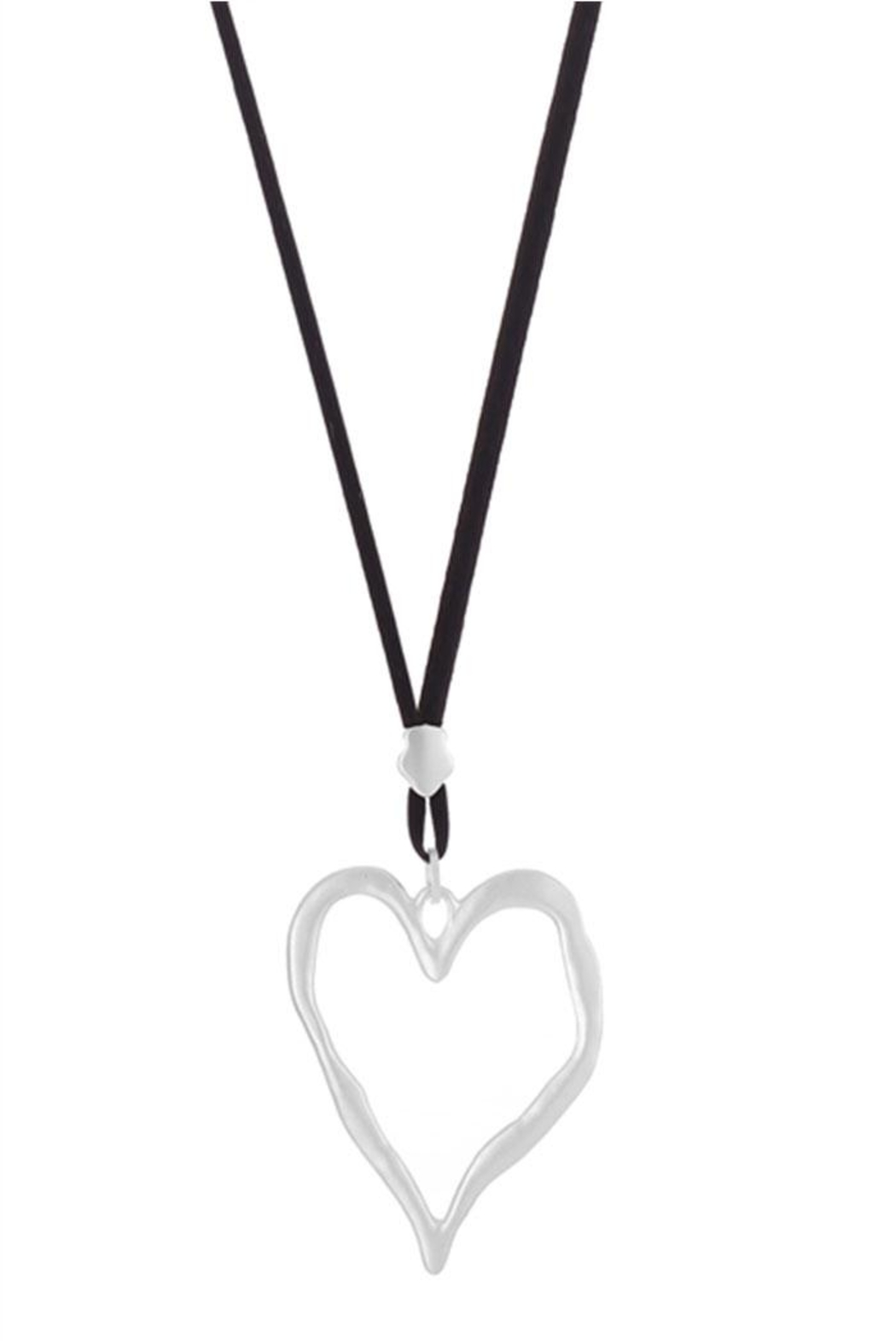 Ole Valentines Heart Necklace - Front Full Image