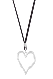 Ole Valentines Heart Necklace - Front full body