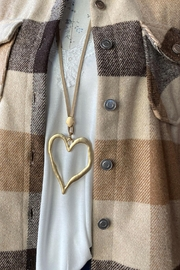 Ole Valentines Heart Necklace - Front cropped