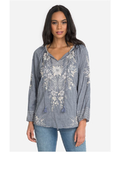Johnny Was Collection Oleander Marrakesh Blouse - Product Mini Image
