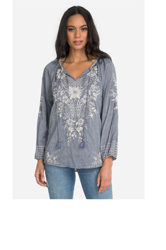 Johnny Was Collection Oleander Marrakesh Blouse - Product List Image