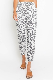 Olivaceous Abstract Joggers - Product Mini Image