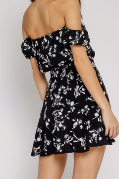 Olivaceous Black Flirty Dress - Alternate List Image